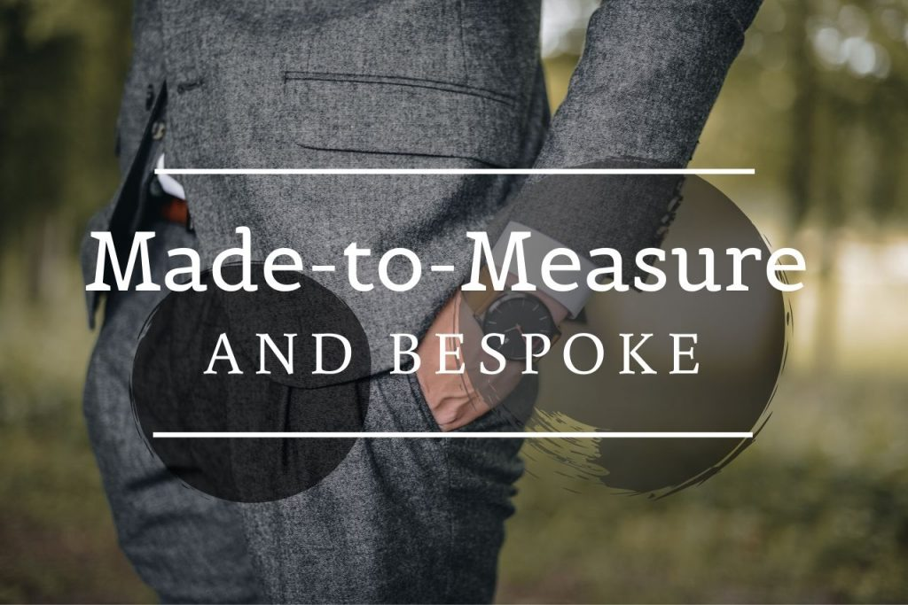 Made-To-Measure Tailoring Versus Bespoke
